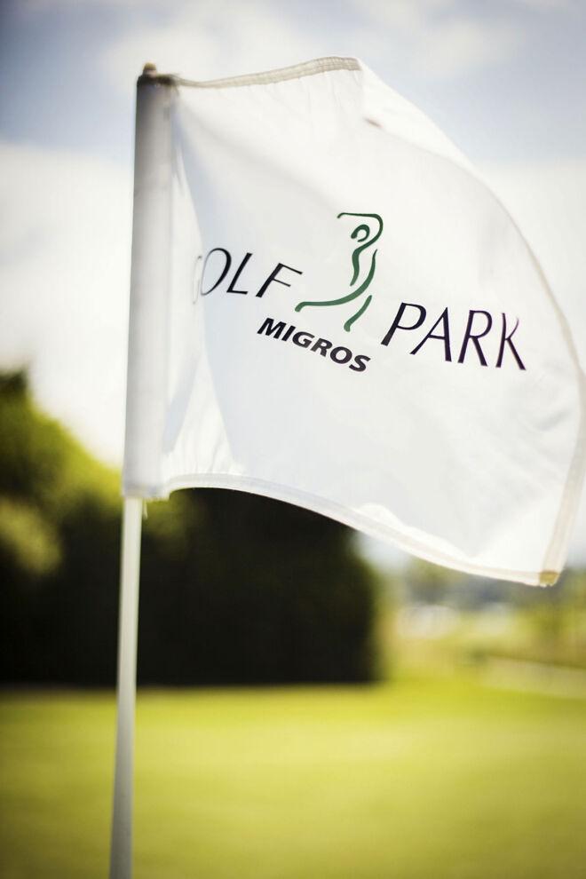 Fahne Golfparks Migros