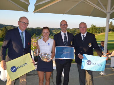 Die Gewinnerin des International Amateur Open in Zumikon: Paula Schultz Hanssen (St. Leon Rot/DE