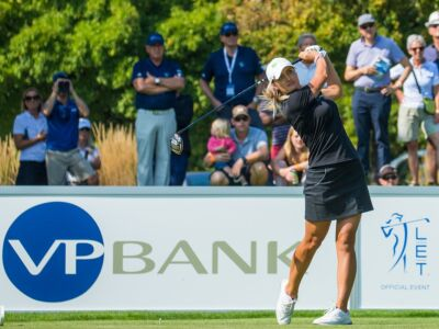 Amy Boulden, Winner of the VP Bank Swiss Ladies Open